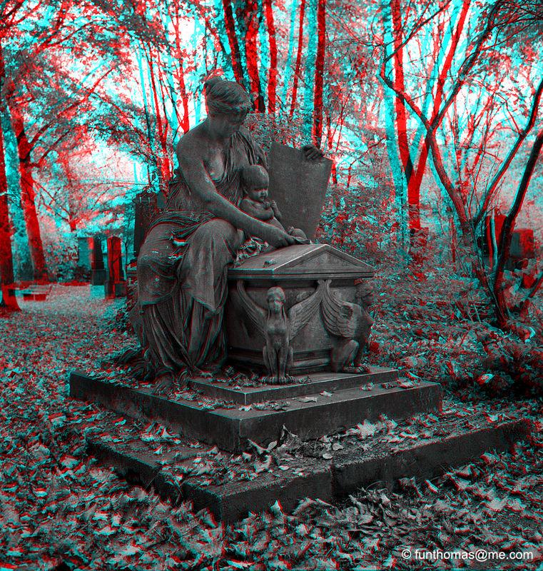 Alter nördlicher Friedhof in München
