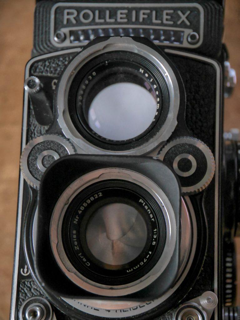 Rolleiflex: Zwei ungleiche Augen