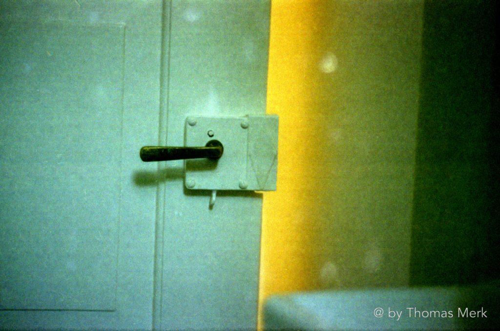 Leica IIIf mit defektem Verschlussvorhang