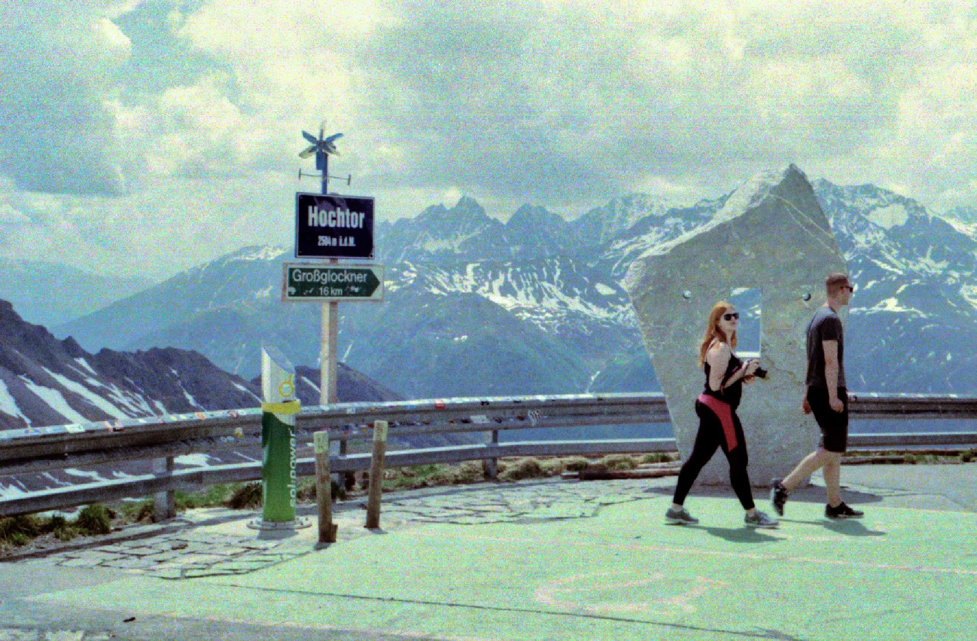 Großglockner: Hiking am Hochtor